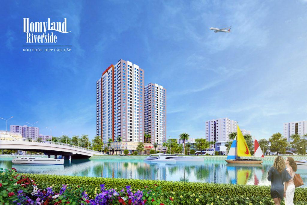 Dự án căn hộ Homyland Riverside