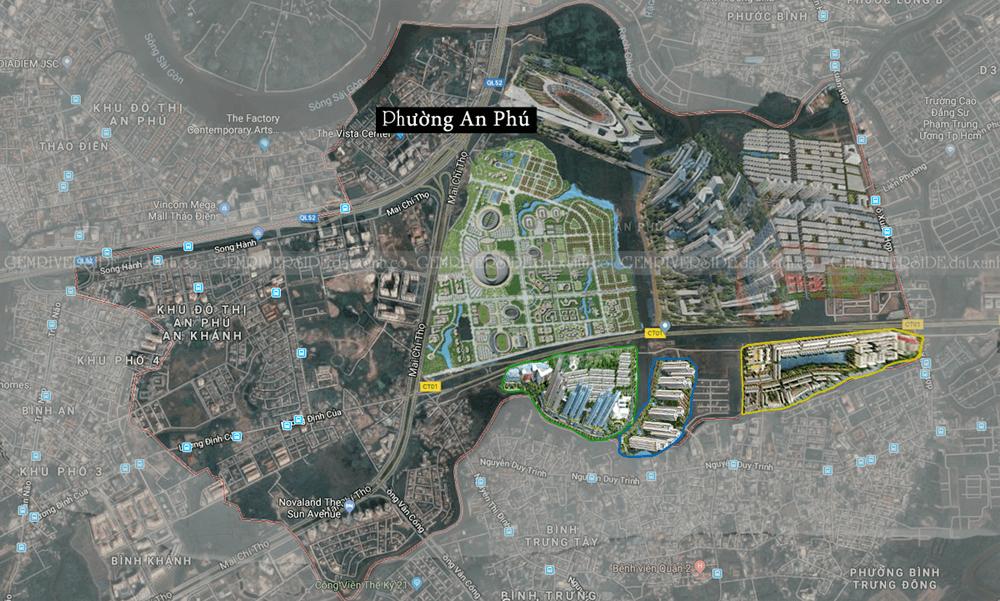Khu đô thị Rạch Chiếc, An Phú